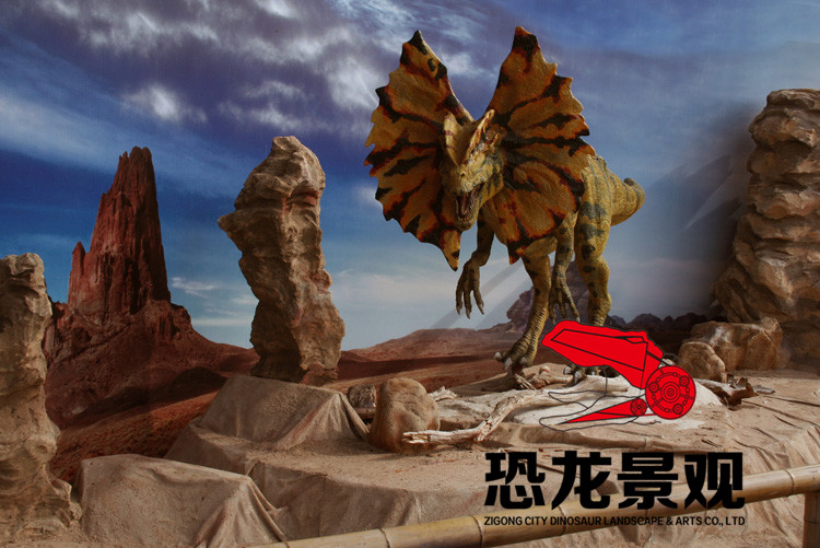 仿真动物,大中型仿真动物便是身型巨大、制做规格超出5米的仿真动物实体模型,