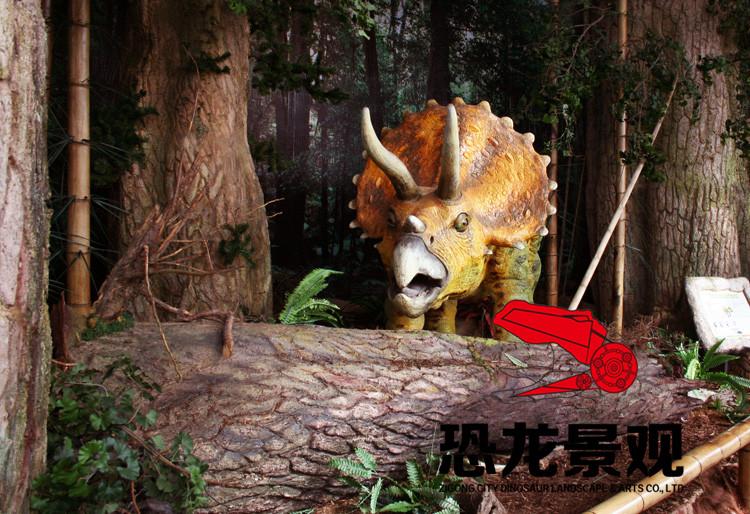 仿真恐龙制作对比气动恐龙的优势性,仿真恐龙公司